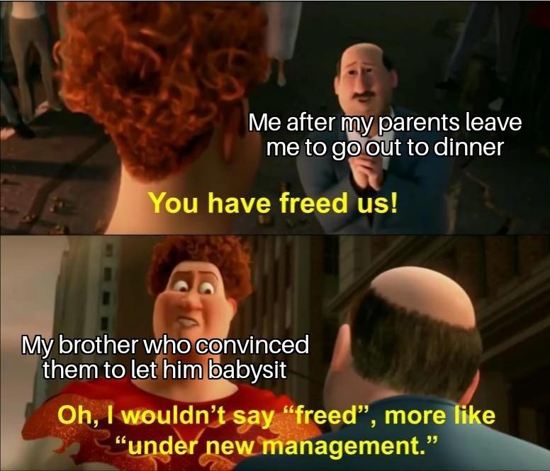 I'm the captain now - meme