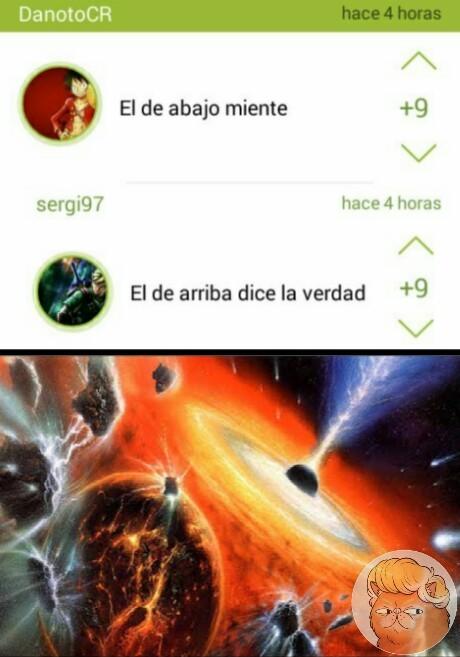 *se destruye el universo - meme