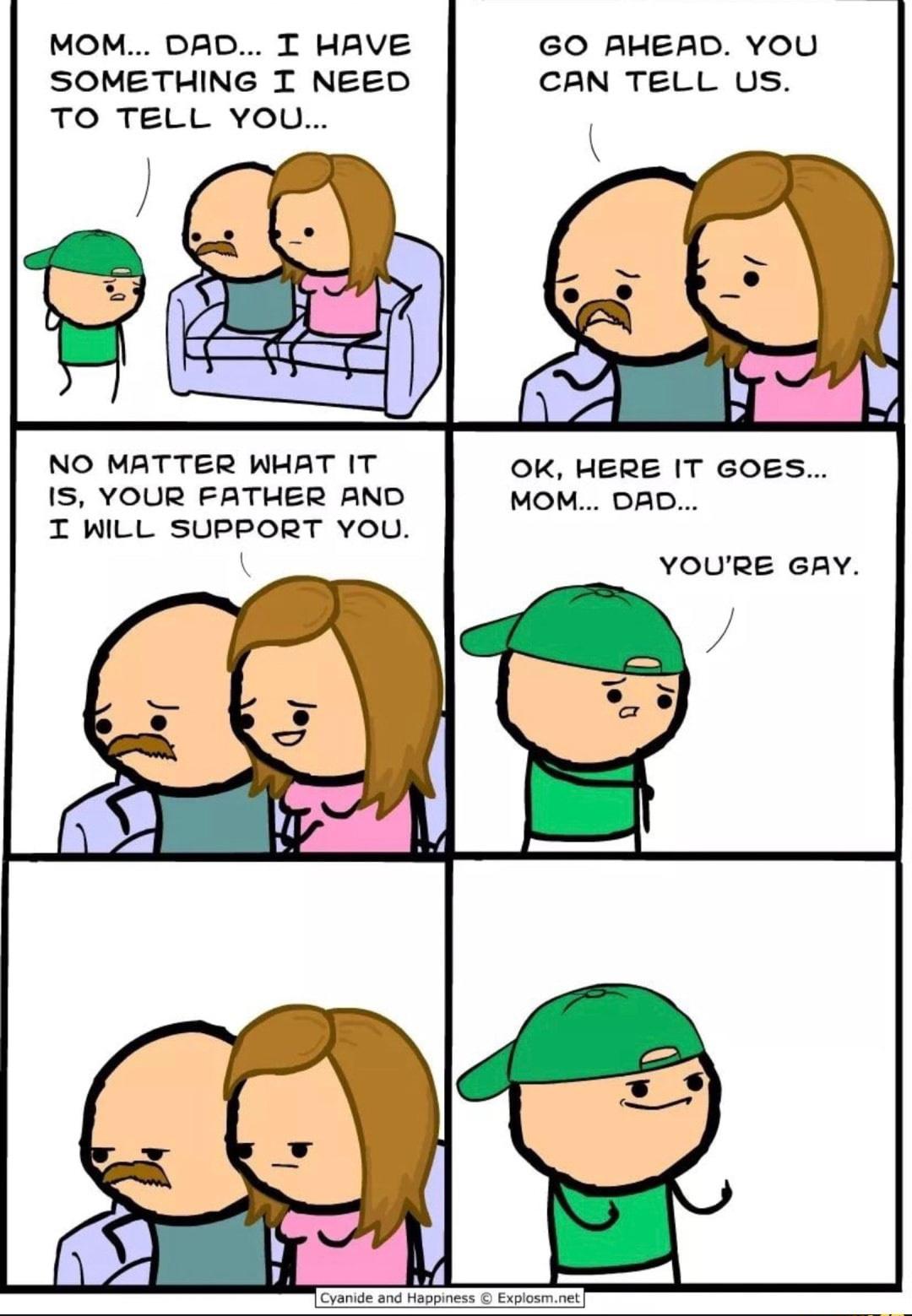 Ur mum gay - meme