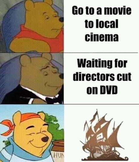 Captain W T Pooh - meme