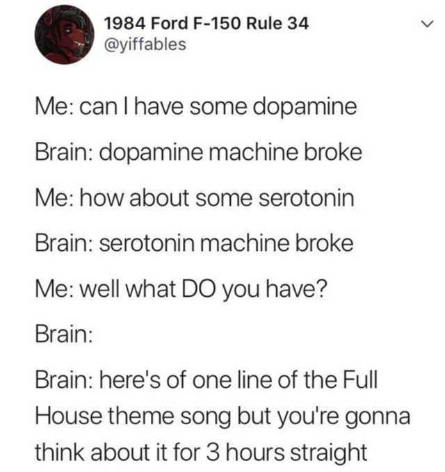 Mcdonalds brain - meme