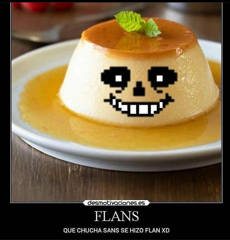 el bueno de Flans  - meme