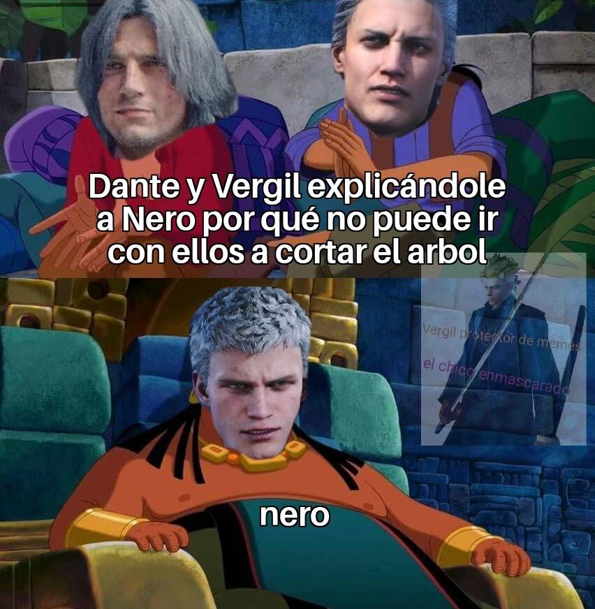 Nero: iré con ustedes - meme