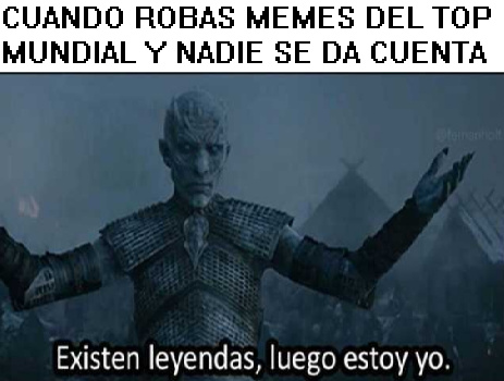 JAJAJJAAJAJJ SON TREMENDOS VIRGOS - meme