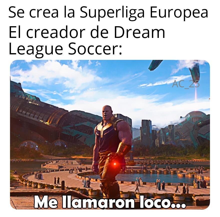 Dream league soccer - meme