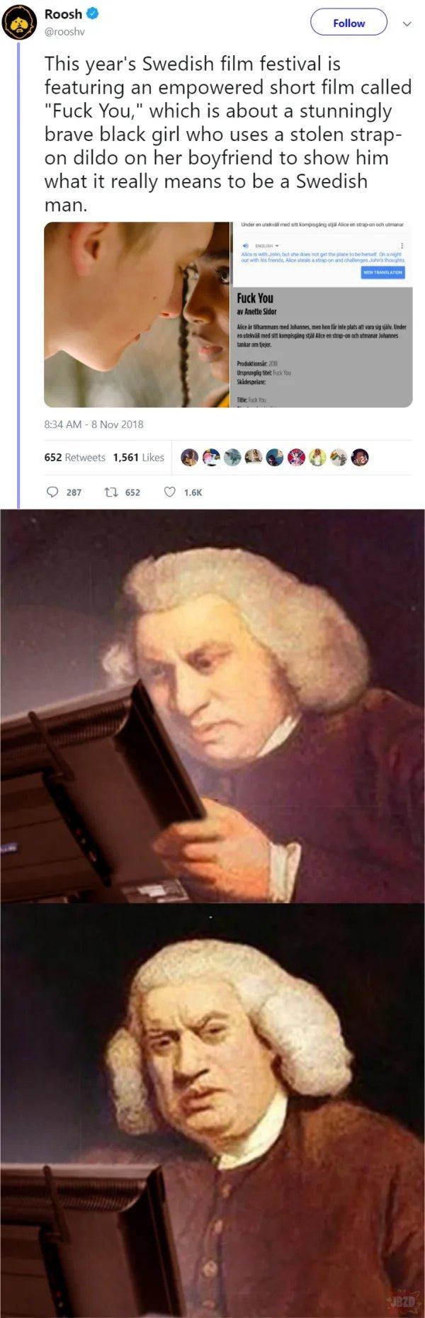 F Y Sweden - meme