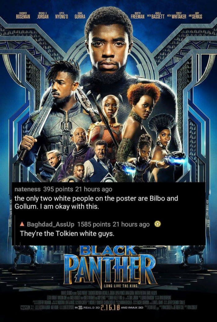 Black Panther.... - meme