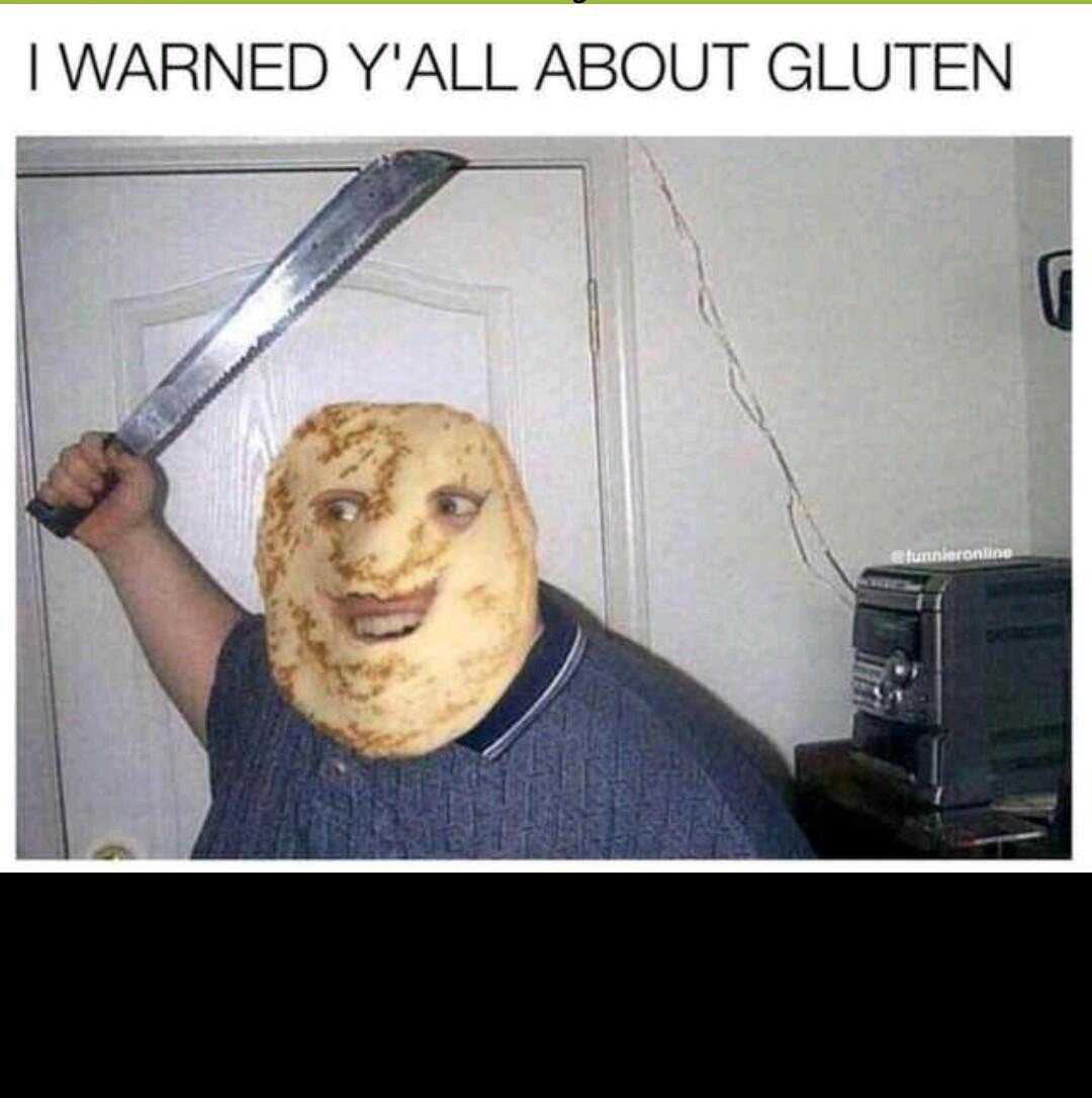 GLUTEN MAN - meme