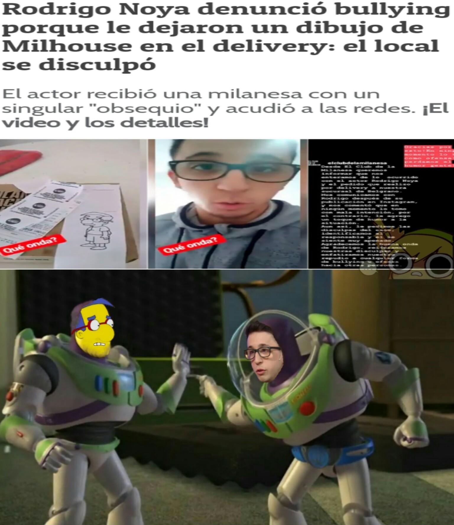 Yo soy Buzz Lightyear! No, yo soy Buzz Lightyear! - meme