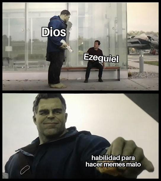 Ezequiel es un pendejo viral jajaja - meme
