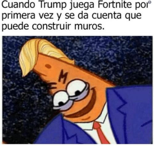 El trump - meme