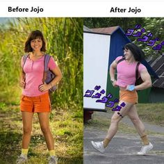 moi après avoir regarder Jojo - meme