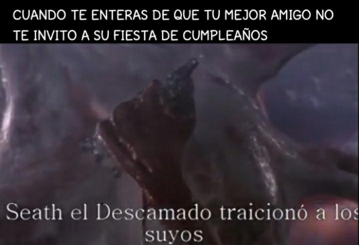 Dark almas - meme