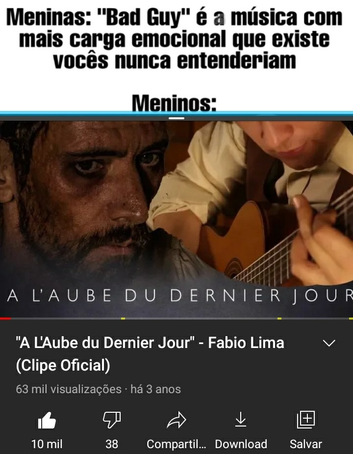 Tu se sente o prisioneiro escutando essa música - meme