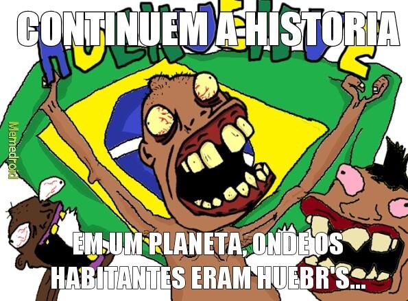 Planeta dos hue - meme