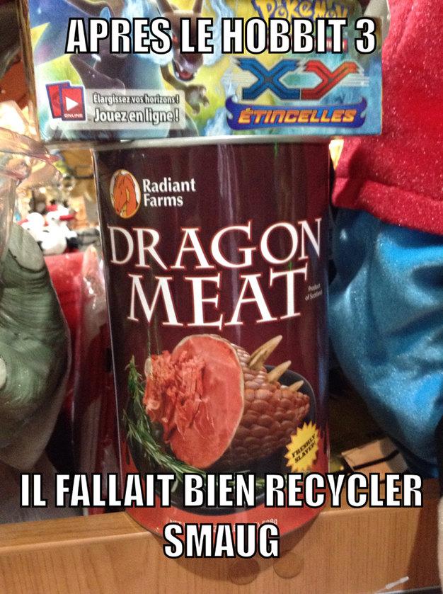 Viande de Dragon - meme