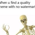 Watermark free my niggas