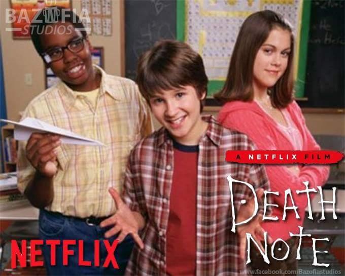 Esse filme do death note ficou peculiar - meme