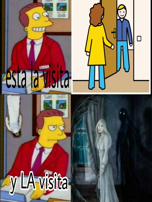 Bajo astral visitando el dormitorio - meme