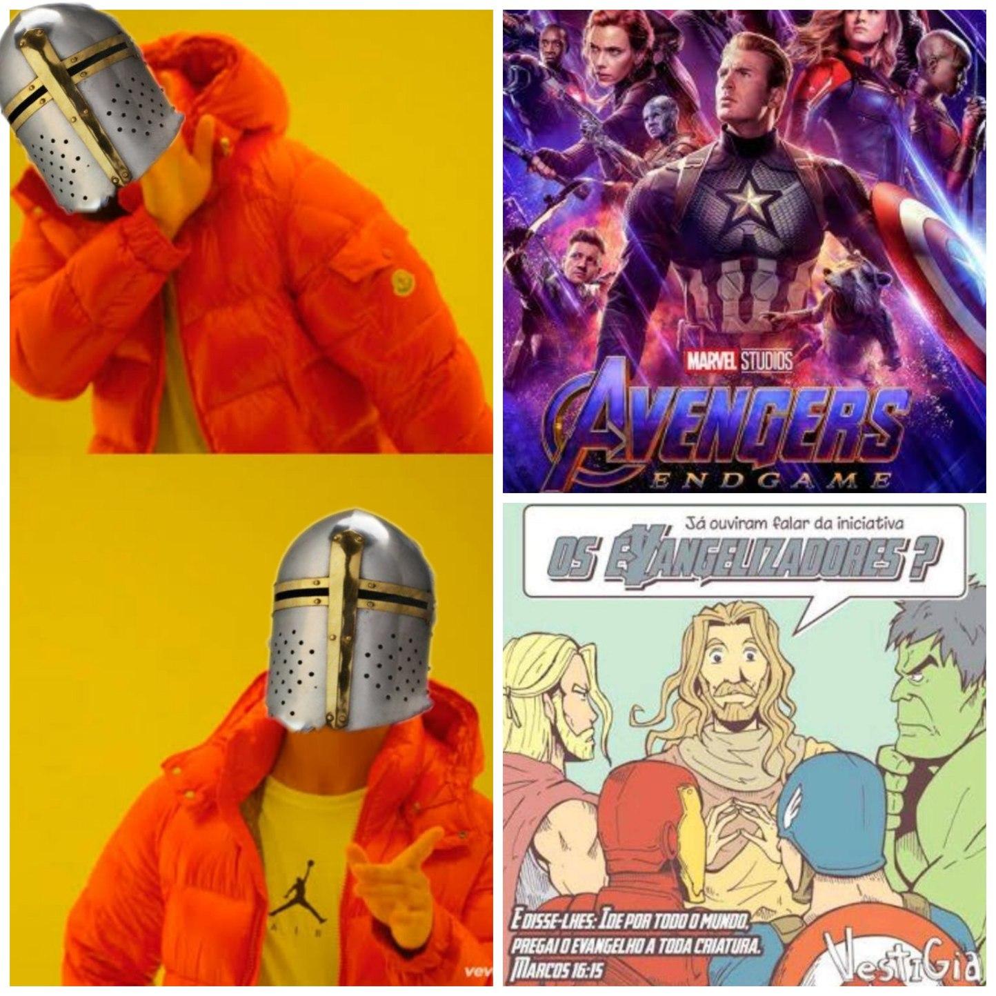 Los Evangelizadores - meme