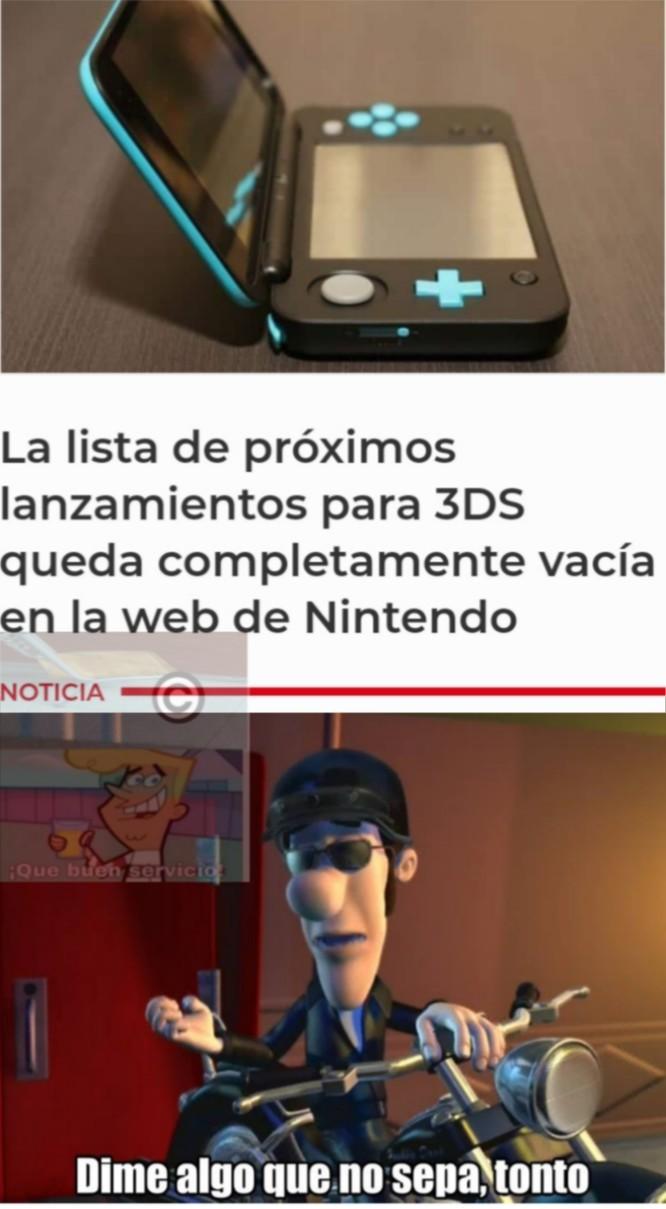 El meme se fue a comprar una switch