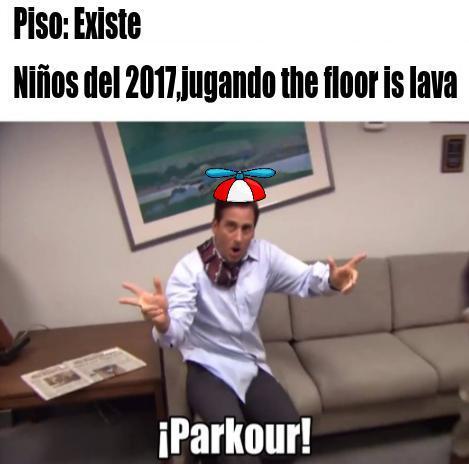 Parkour!!!!!! - meme