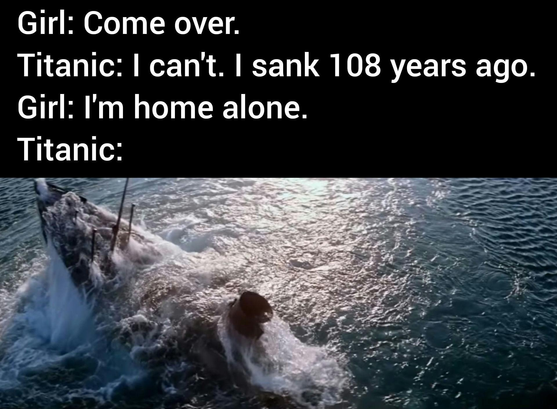 Titanic II: Why am I hearing boss music? - meme