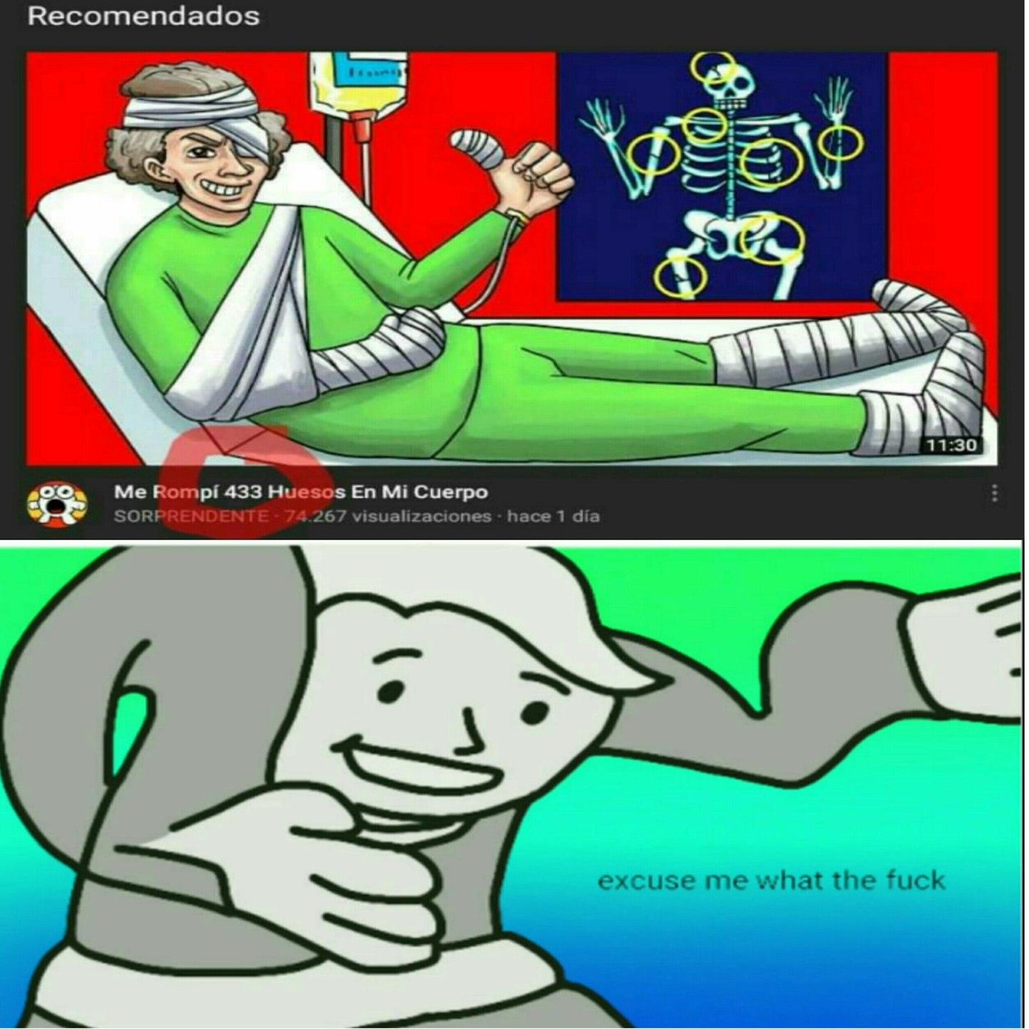 Mientras tanto youtube - meme