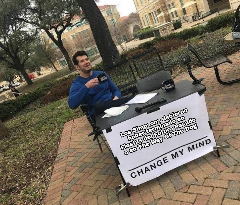 Yo llore con The Way Of The Dog - meme