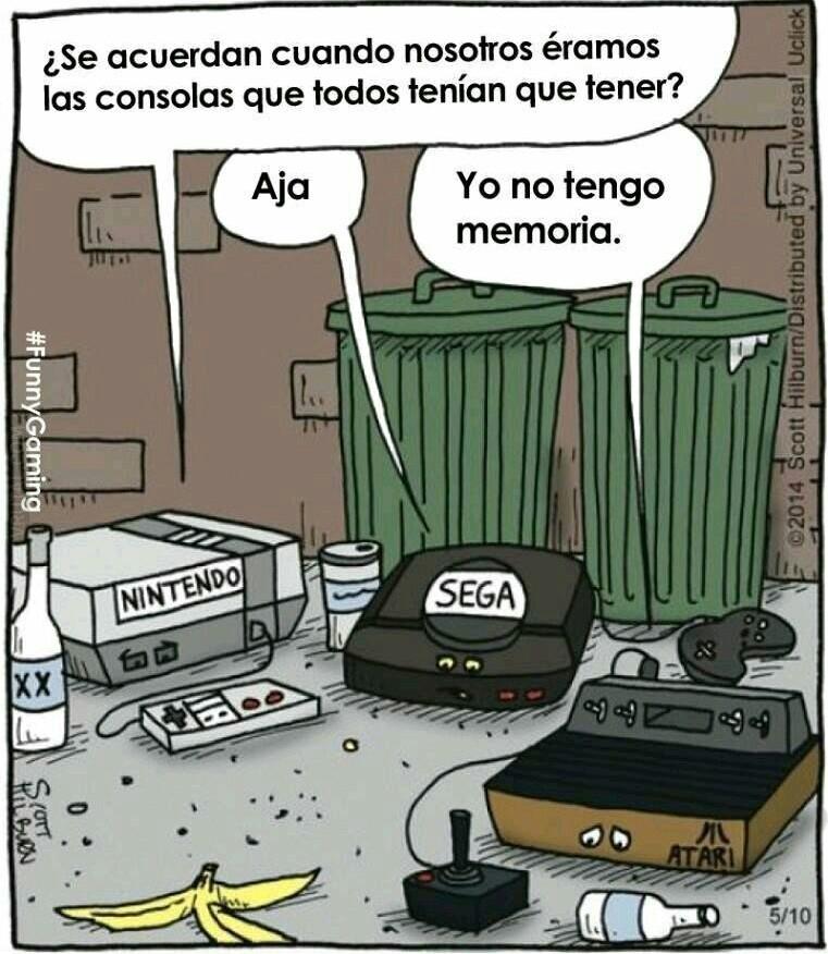 Viejos tiempos - meme
