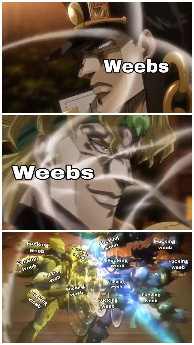 You cannot defeat my stand, 「ZA WEEABO」 - meme