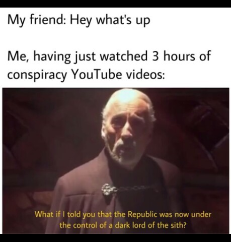 Star Wars time - meme