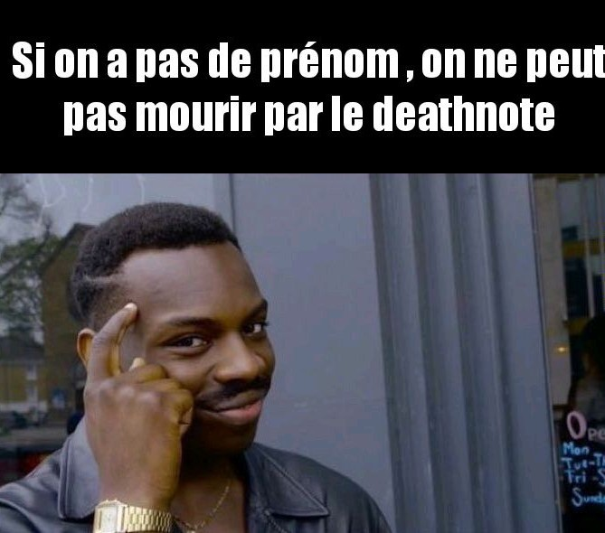 Death note logic - meme