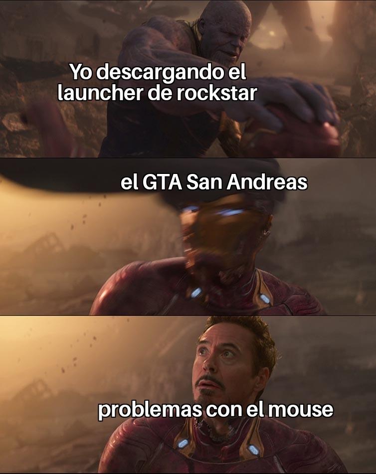 El GTA San Andreas - meme