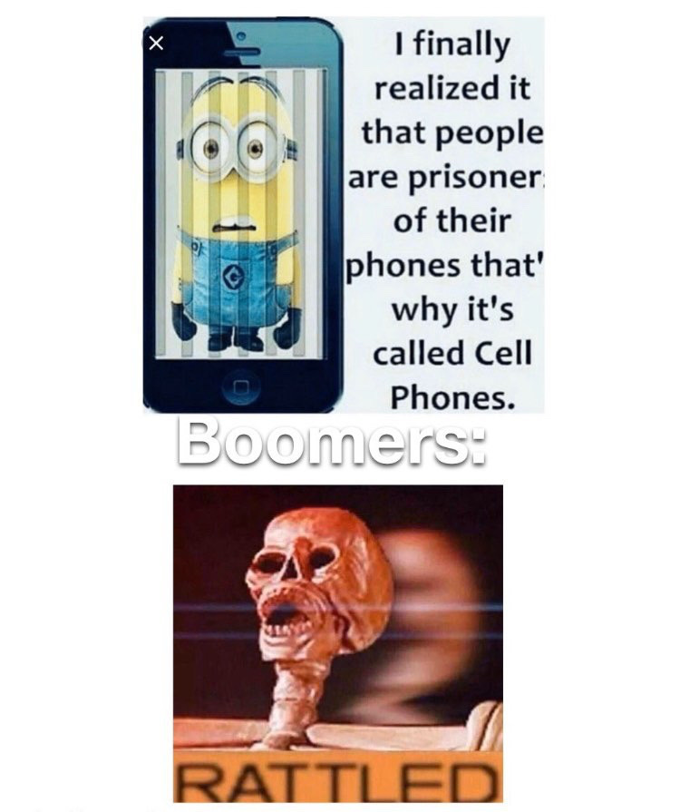 My grandma laughed at Minion memes