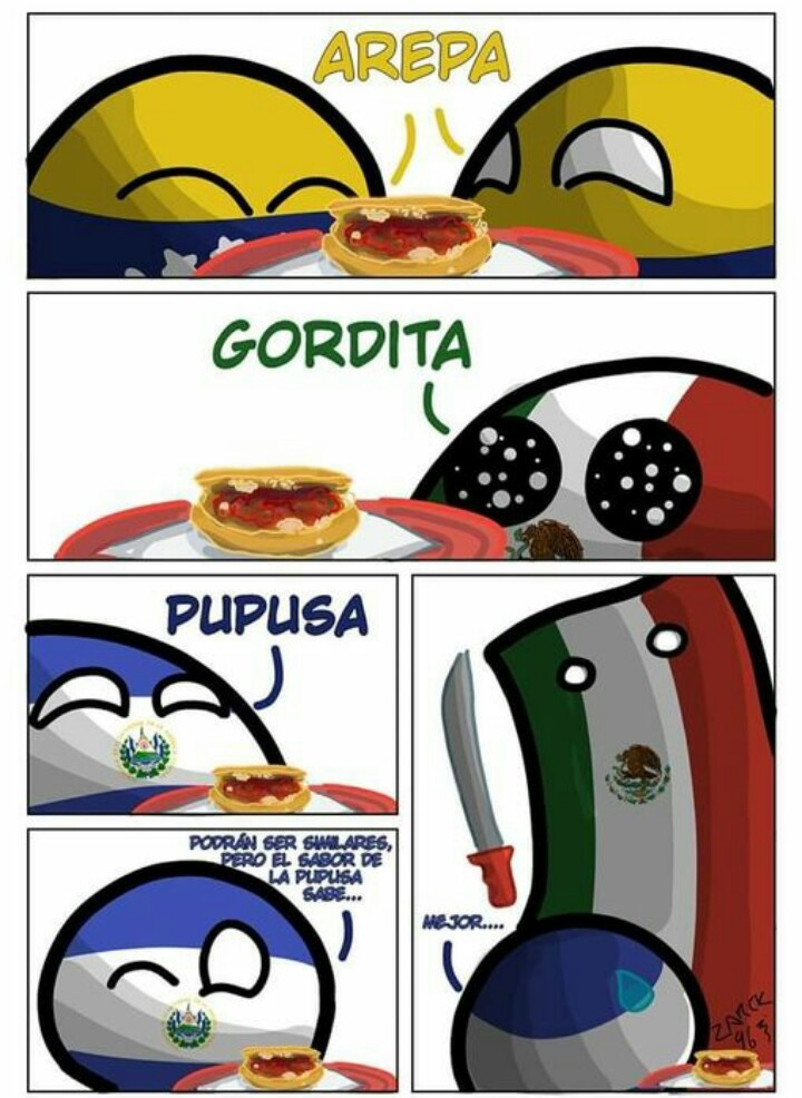 Arepa Venezolanoa mis panas - meme