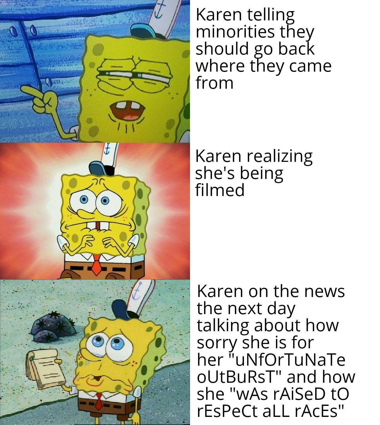 I'm not racist - meme