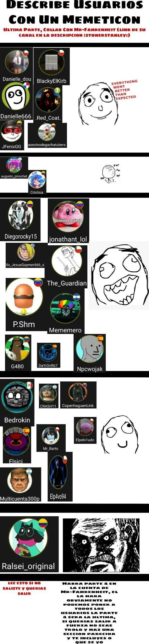Parte 4 Proximamente, Mr-Fahrenheit lo subira; lean el texto de abajo - meme
