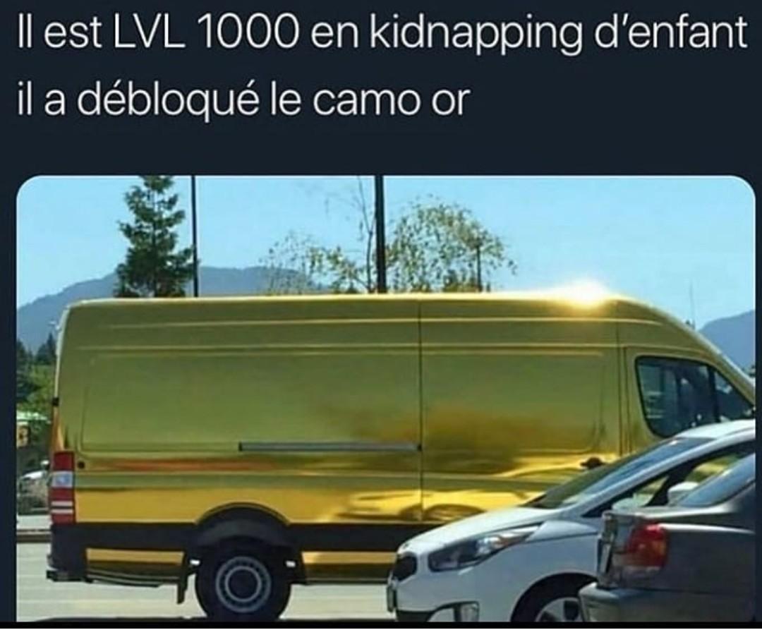 Kidnapping 100 - meme