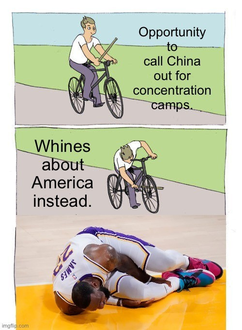 LeBron James be like - meme