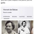 The Balzac needs attention too