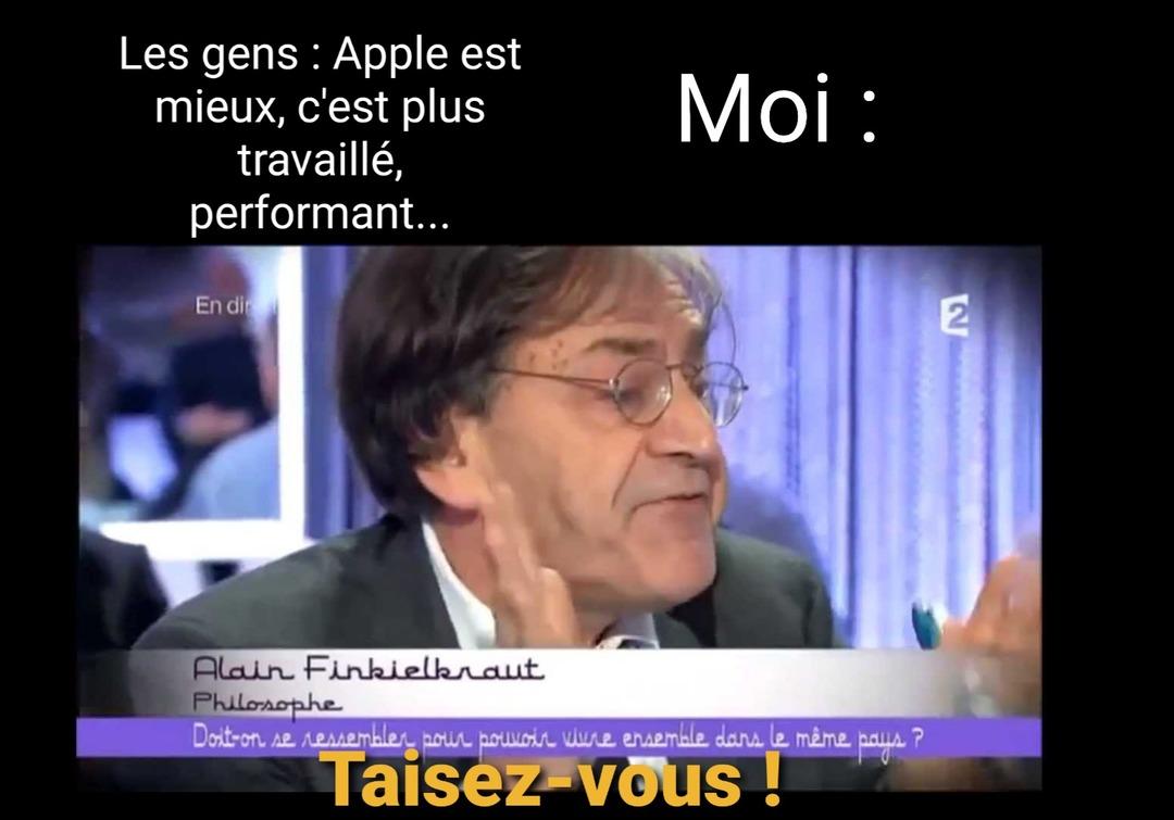 Apple=capitalisme - meme