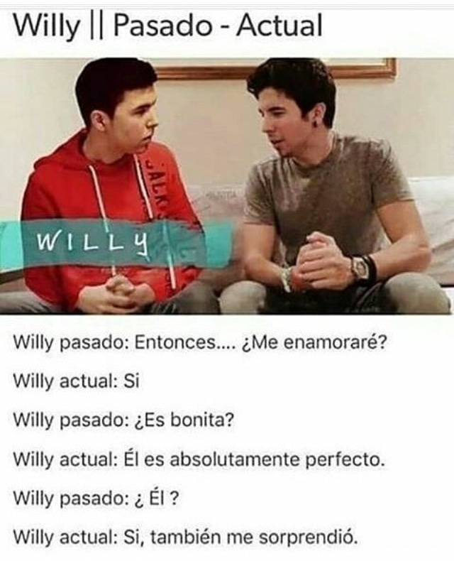 Madre mia Willy! - meme