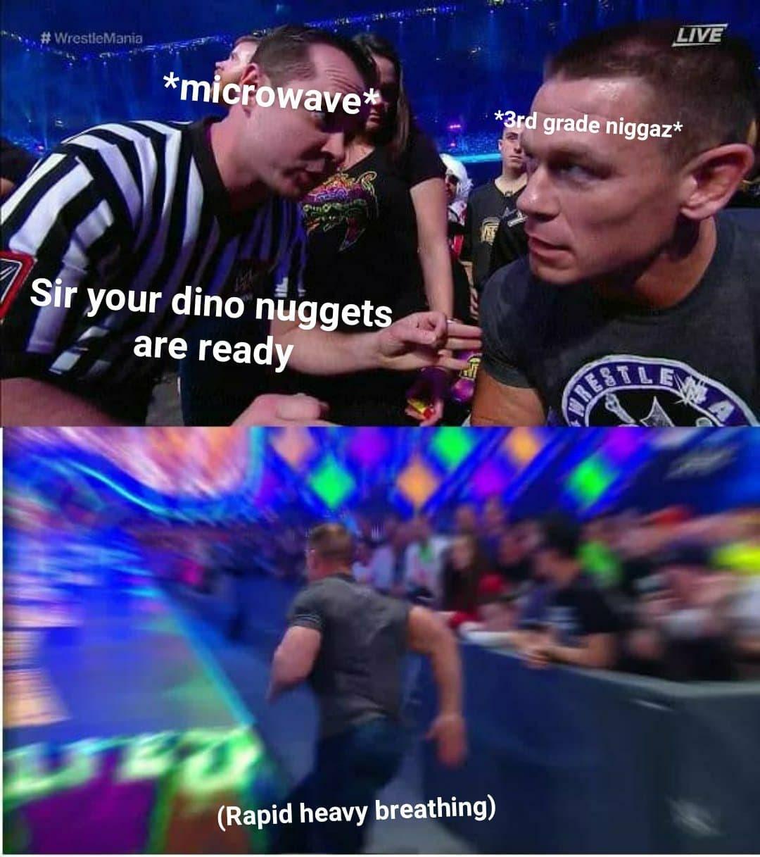 Dino nuggets - meme