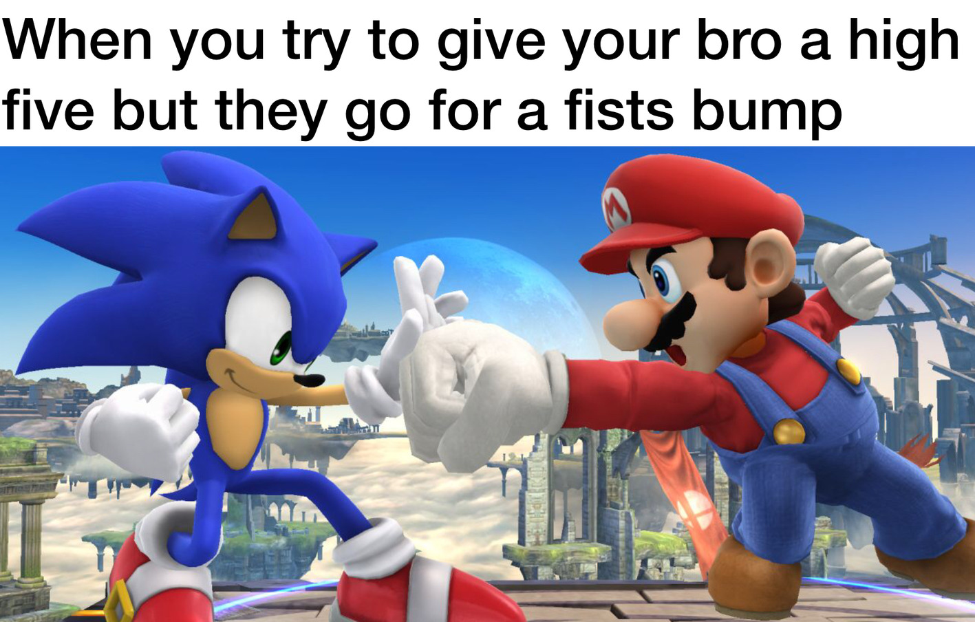 My first super smash bros screenshot - meme