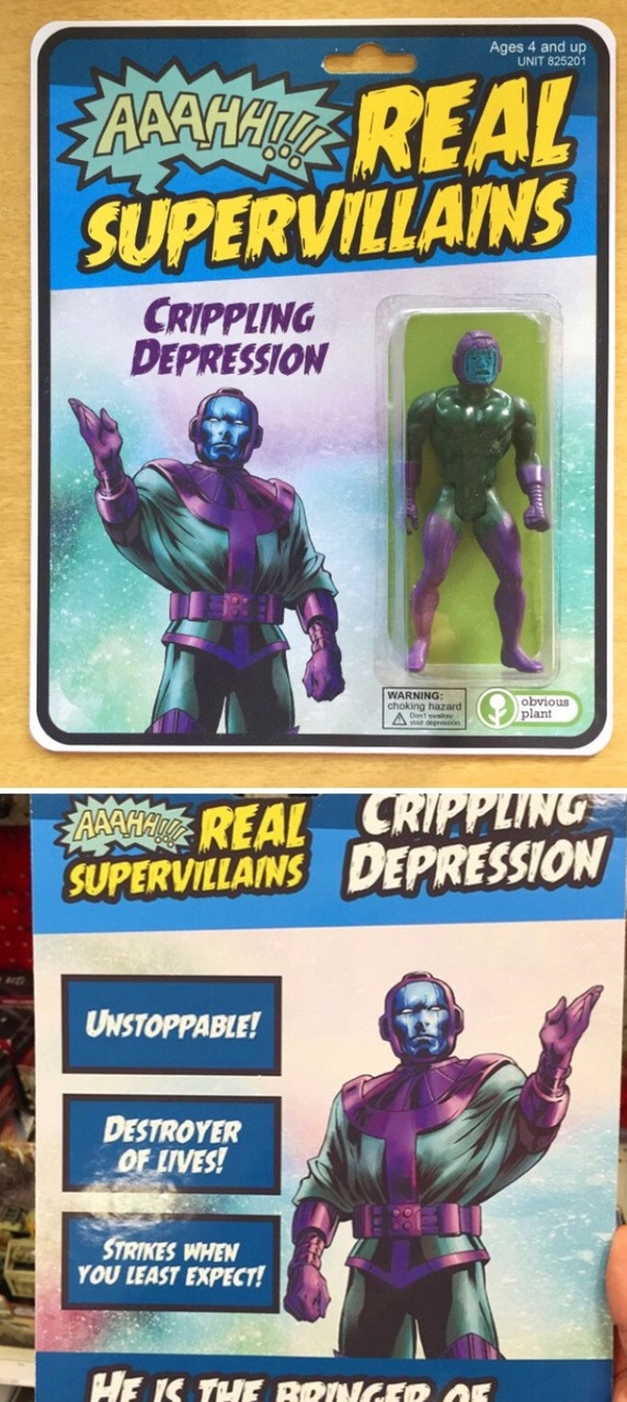 the evil depression - meme