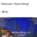 PETA at oceanside pier