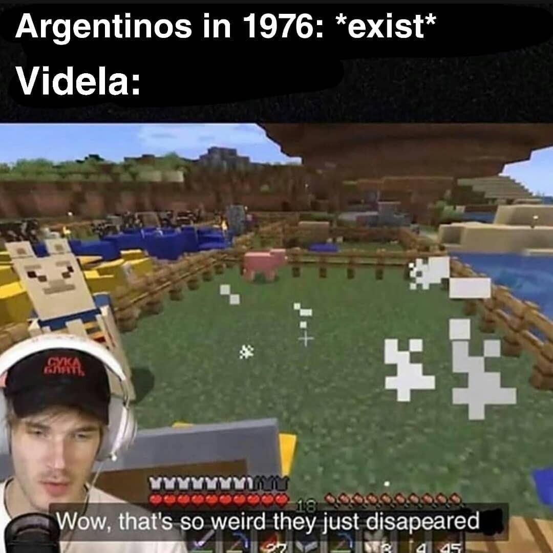 Aguante Videla y los Falcones verdes - meme