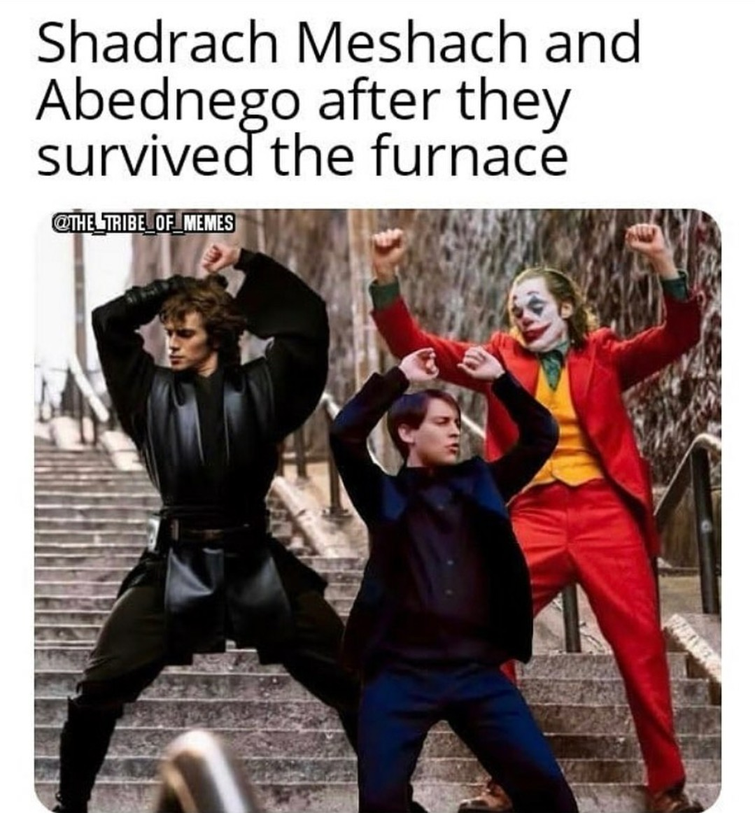 Such fiery. So 4th person in there - meme