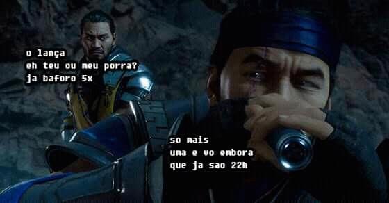 Baforo passo - meme